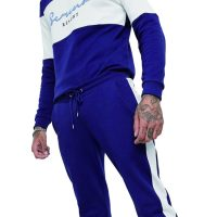 Custom logo design your own 2pcs tracksuits for men gym wear jogger tracksuit