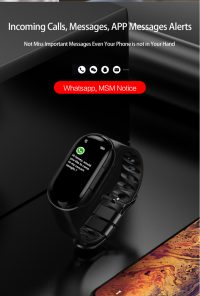 2020M1's latest AI smart watch with sports steps, with Bluetooth headset, heart rate fitness watch smart bracelet