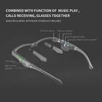 2021Headset Headphone Bluetooth Audio Sunglasses Polarized Glasses Lenses Compatible Bluetooth Sunglasses With Bluetooth Headset